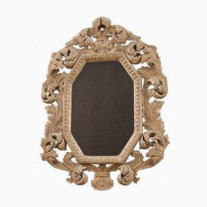 Specchio in legno dipinto, Italia, anni '70