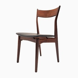 Danish Rosewood Dining Chairs from H.P. Hansen, 1960s, Set of 5
