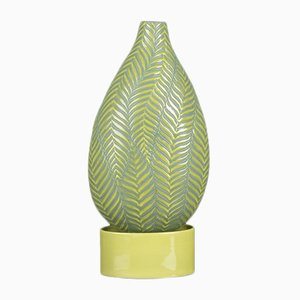 Fern Bottle with Big Base in Gress Green from VGnewtrend
