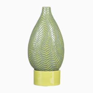 Fern Bottle with Small Base in Gress Green from VGnewtrend