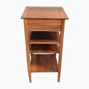 19. Jahrhundert Notar Schreibtisch aus Nussholz