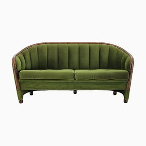 Italian 2-Seat Sofa in the Style of Gio Ponti, 1950s