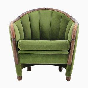 Italienischer Sessel im Stile von Gio Ponti, 1950er