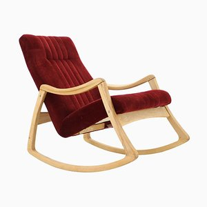 Rocking Chair from TON, Czechoslovakia, 1960s