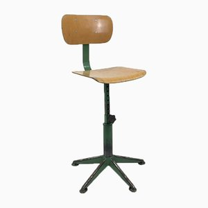 Vintage French School Desk Chair, 1960s