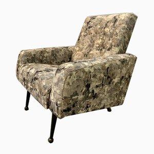 Sessel aus Abstraktem Stoff, 1960er