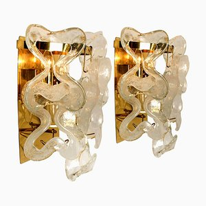 Catena Wall Sconces by J.T. Kalmar, Austria, 1960s, Set of 2