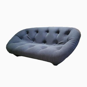 Easy Comfort Lounge Sofa in Jeans Blue by Ronan & Erwan Bourellec for Ligne Roset, 2010