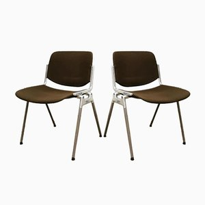 Dining Chairs by Giancarlo Piretti for Anonima Castelli, 1970s