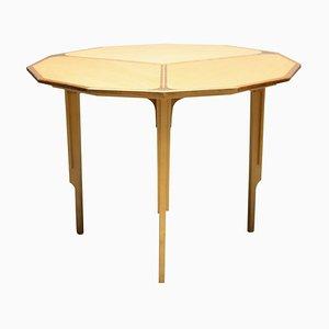 Dodecagon-Förmiger Tisch mit Intarsien, 1980er