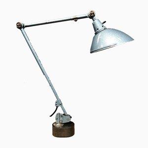 Blaue Hammerblower Tischlampe von Midgard, 1950er