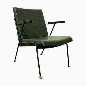 Grüne Oase Sessel aus Kunstleder von Wim Rietveld für Ahrend De Cirkel, 1960er