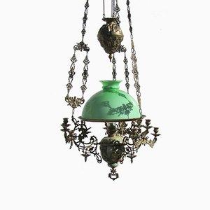 Antiker Napoleon III Kerzenhalter Kronleuchter