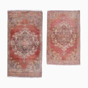 Vintage Turkish Rugs, 1970s, Set of 2