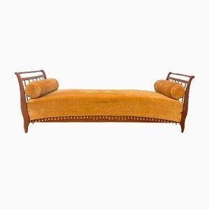 Antikes Italienisches Kirschholz Sofa