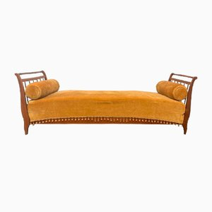 Antique Italian Cherrywood Sofa