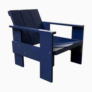Blaue Nr. 41 Kinderstuhl von Gerrit Rietveld für Rietveld, 2000er