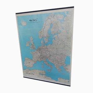 Mappa europea di Litografia Cartografica Firenze, inizio XXI secolo