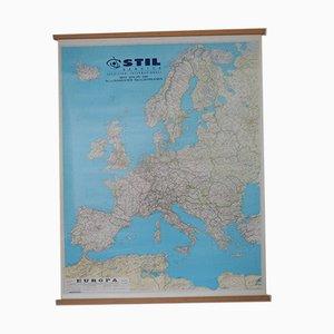 Mapa de carreteras de Europa de Litografia Artistica Cartografica Firenze, 2000s
