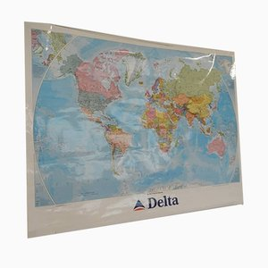 Politcal und Physical Map von Istituto Geografico De Agostini Novara, 2001