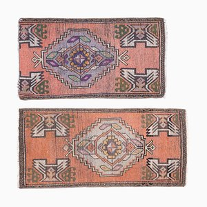 Vintage Turkish Rugs, Set of 2