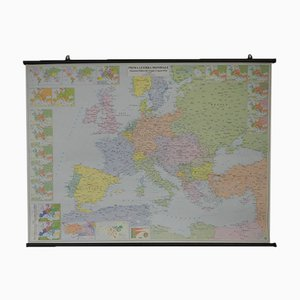 Europe WWI Map from Cartografia Belletti, 2000s