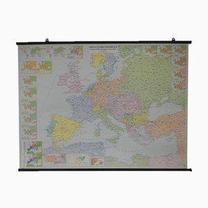 Mapa de la Primera Guerra Mundial de Europa de Cartografia Belletti, años 2000