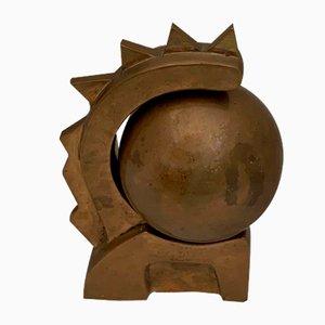Sculpture Lion en Bronze, Italie, 1940s