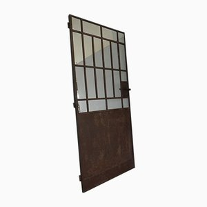Italian Glazed Iron Room Divider, 1920s