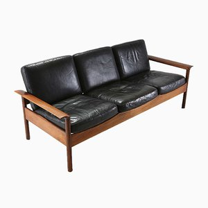Mid-Century Rosewood Sofa from Gervan