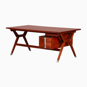 Rosewood Terni Desk by Ico Luisa Parisi for MIM, 1958