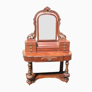 Antique Mahogany Duchesse Dressing Table, 1900s