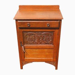 Small Oak Cabinet, 1920s
