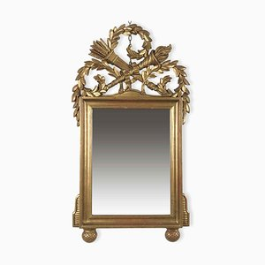 Golden Carved Mirror, 1980s