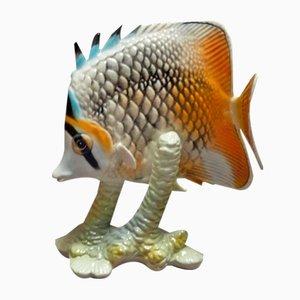 Fisch Porzellan Figur von Göbel