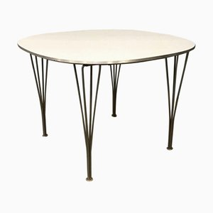 Dining Table by Bruno Mathsson & Piet Hein for Fritz Hansen, 2000s
