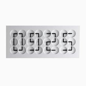 Horloge 24 White Edition par Humans Since 1982