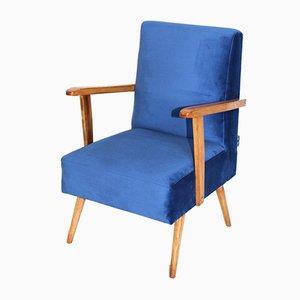 Vintage Velvet Armchair, 1970s