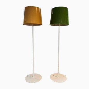 Schwedische Stehlampen von Uno & Östen Kristiansson für Luxus, 1970er, 2er Set