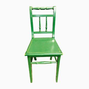 Dutch Green Bistro Chair, 1960s