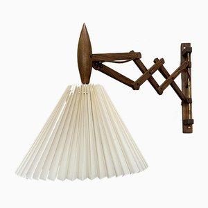 Palisander Scissor Wandlampe von Le Klint, 1950er