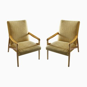 Mid-Century Eastern Block Armchairs by Jiri Jiroutek for Interier Praha, 1970s, Set of 2