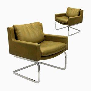 Executive Armchairs by Robert Haussmann for de Sede, 1960s, Set of 2