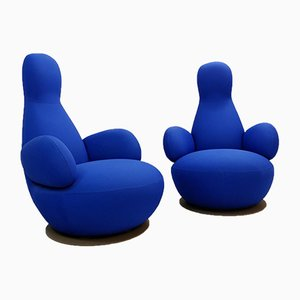 Oppo O50A Swivel Armchairs by Stefan Borselius, 2009, Set of 2