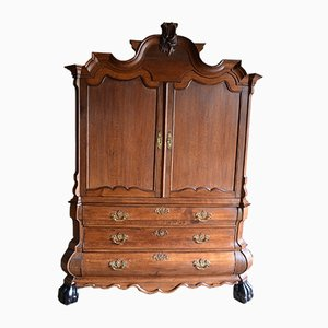 Antique Dutch Oak Cabinet