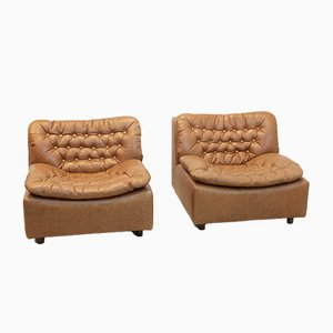 Model 691 Lounge Chairs by Harry de Groot for Leolux, 1960s, Set of 2