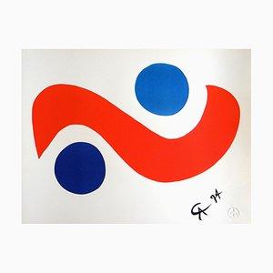 Litografia Skybird di Alexander Calder, 1974