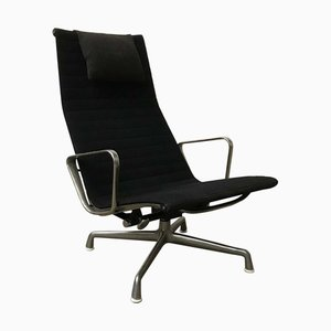 Model EA 124 Lounge Chair by Charles & Ray Eames for Herman Miller, 1980s