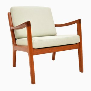 Danish Teak Armchairs by Ole Wanscher, 1960s, Set of 2