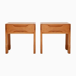 Mid-Century French Nightstands by Maison Regain, 1970s, Set of 2